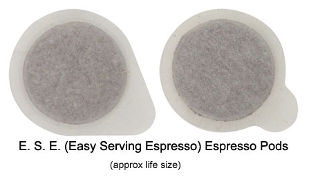 ESE coffee pods