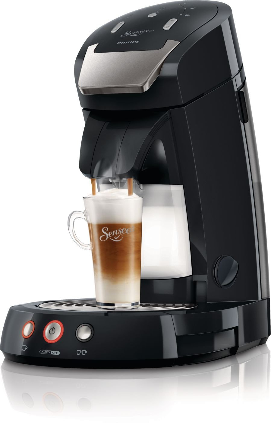 philips hd7854 60 senseo latte select coffee pod machine. Black Bedroom Furniture Sets. Home Design Ideas